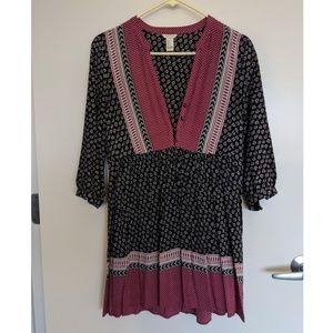 Hippie Inspired Mini Dress